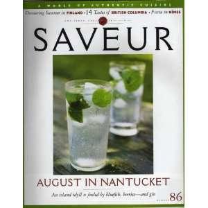 Saveur Magazine Aug/Sept 2005 No 86