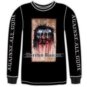 Marilyn Manson   Long Sleeve Shirts Clothing