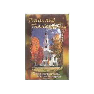 Church Bulletins (Thanksgiving, CPH 84 0765 Praise and