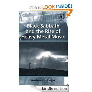 Black Sabbath and the Rise of Heavy Metal Music (Ashgate Popular and