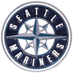 Seattle Mariners Pewter Logo Trailer Hitch Cover