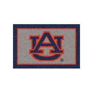 Auburn Tigers Blue UA 33 x 45 Team Door Mat: Sports