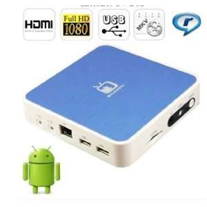 Google Android 2.3 HDMI HD 1080P Wifi Internet TV Set Top