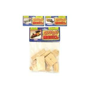 Wood transportation model kits (Each) By Bulk Buys