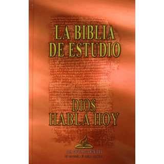 La Biblia De Estudio Dios Habla Hoy Con Deuterocanonicos