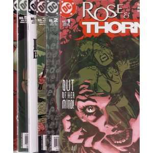Rose & Thorn, Issues 1 6 GAIL SIMONE, ADRIANA MELO, DAN GREEN Books