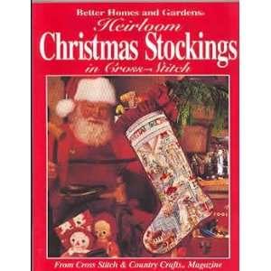 Zig-Zag Christmas Stocking Free Knitting Pattern by Vickie