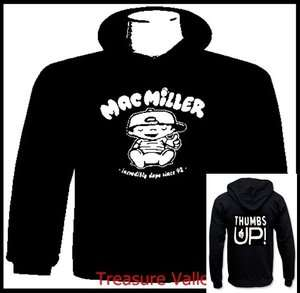 Mac Miller Thumbs Up Hoodie Knock Knock Sweater Wiz Khalifa Trump
