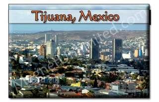Skyline Tijuana   Mexico Souvenir Magnet #2