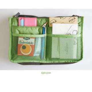 GL Women Travel Insert Handbag Organiser Purse Large liner Organizer