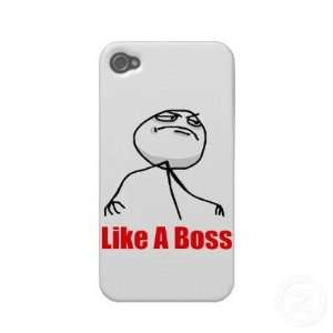 Like a boss iPhone 4 Meme case Iphone 4 Case Cell Phones