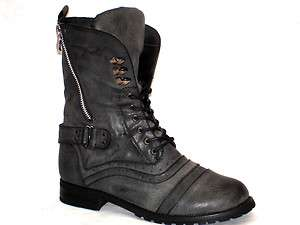 NEW WOMENS MILITARY ARMY COMBAT WORKER BOOTS SIZE 3 8