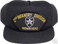 VETERAN BALL CAP   U. S. ARMY   2nd INFANTRY DIVISION