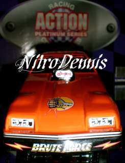 NHRA JOHN FORCE 124 Diecast Funny Car MONZA 1978 BRUTE Nitro DRAG