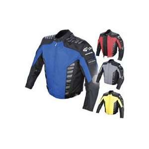 Rocket Airborne Mens Textile Jacket Large Yellow/ Black Automotive
