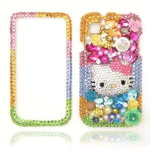Ready to Ship within 24 48 hours   3D Rainbow Bling Hello Kitty Bling