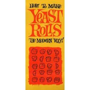 How to Make Yeast Rolls the Modern Way Hot Roll Baking Books