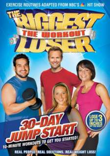 The Biggest Loser Workout 30 DAY JUMPSTART Exercise DVD