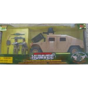 Power Team Elite World Peacekeepers Desert Humvee: Toys & Games
