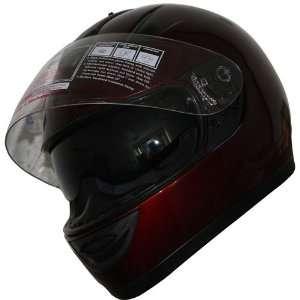 Full Face DOT Street Bike Helmet with Internal Sunglass(505