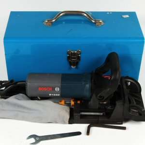 Bosch B1650 Plate Joiner 11,000 RPM Biscuit Cutter w/ Case