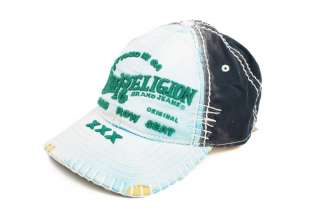 True Religion TR1123 Turquoise Unisex New Hats Caps