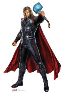 2012 MOVIE THOR LIFESIZE STANDEE STAND UP LICENSED 1188