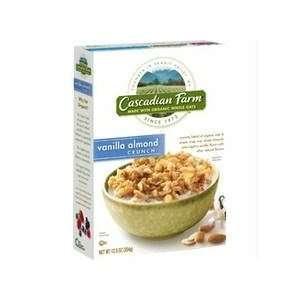 Cascadian Farm Vanilla Almond Granola Crunch (5x13 Oz)
