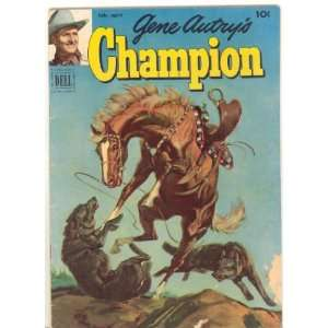 : Gene Autrys Champion #5, 1952 year, Abg.G/Good, $9.00: Dell: Books