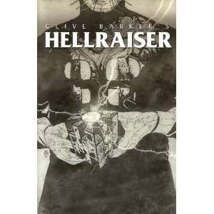 HELLRAISER #4 RETAILER INCENTIVE COVER CLIVE BARKER Books