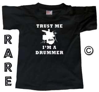 TRUST ME I AM A DRUMMER (Drum Kit Drums Player) T SHIRT