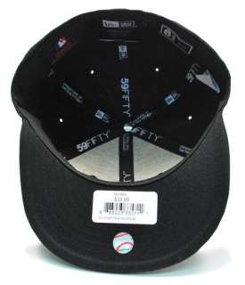 NEW ERA FITTED YOUTH HAT CAP TORONTO BLUE JAYS BLACK