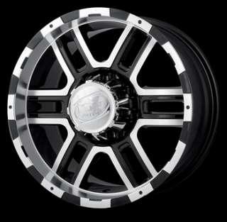 20x9 Black Wheel Alloy Ion Style 179 6x5.5 Tacoma Rim