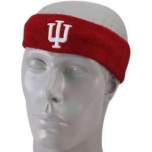 adidas Indiana Hoosiers Crimson Basic Logo Headband