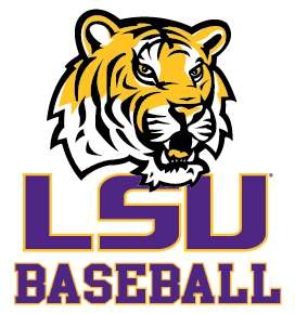 Tigers BASEBALL clear decal sticker Louisiana State Car Truck Decal
