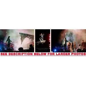 MICHAEL JACKSON HISTORY TOUR STAGE 8 (3) RARE 8x10 FINE