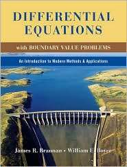Differential Equations with Boundary Value Problems An Introduction