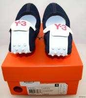 NIB Womens Adidas Y 3 Yohji Yamamoto Jete Flat shoe US 8 UK 6.5