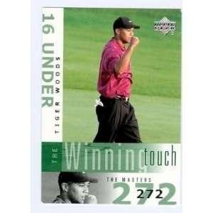 Tiger Woods golf card 2002 Upper Deck #WT1