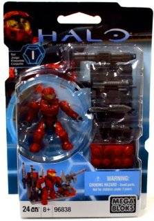 Halo Wars Mega Bloks Exclusive Mini Figure Set #1 Red Weapons Pack
