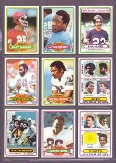 1980 Topps #4 Paul Krause Record Breaker Vikings (Mint)