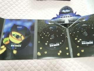 BIGBANG 2009 BIG SHOW DVD LIVE CONCERT 3 DISC PHOTOBOOK RARE OOP KPOP
