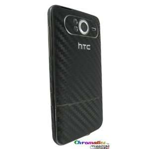 HTC HD7 Black Carbon Fiber Full Body Protection Skin by