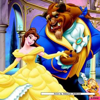 picture 3 of Jumbo 4 pieces jigsaw puzzle Disney   Beauty and the