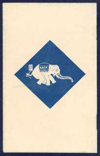 1903 Philadelphia Athletics Yearbook. Very scarce.