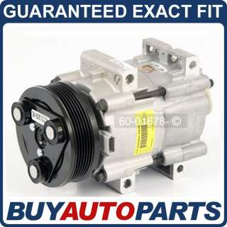 NEW AC COMPRESSOR & CLUTCH FORD TAURUS & MERCURY SABLE
