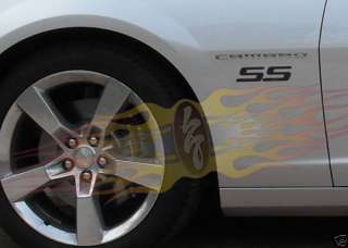 2009 2010 Chevy Camaro SS Fender Decals Any Color New