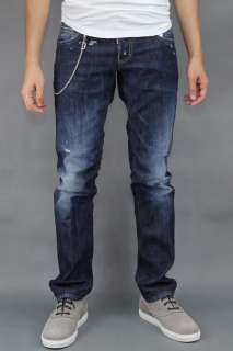 DSQUARED 11AW NWT SLIM FIT CHAINED JEANS