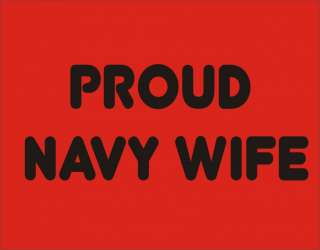 PROUD NAVY WIFE T Shirt Military Patriot Mother Day Tee