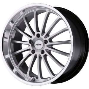 TSW Alloy Wheels Zolder Hyper Silver Machined Wheel (20x10